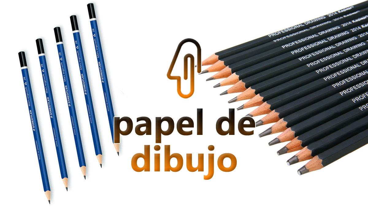 Tipos de lápiz para dibujar